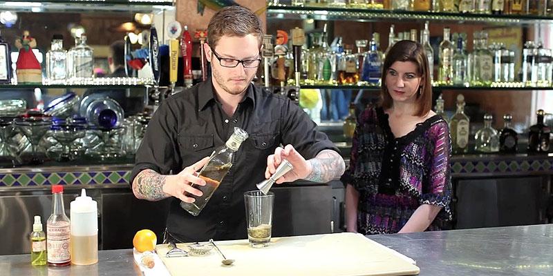 Tequila Sazerac, using Fortaleza Añejo