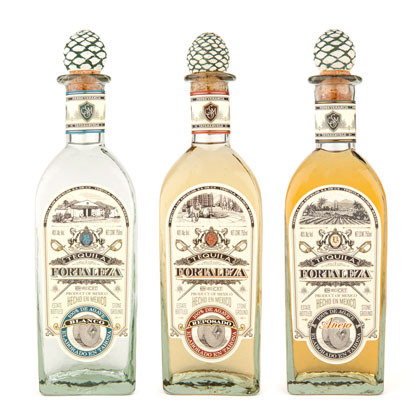 Fortaleza Tequila lineup