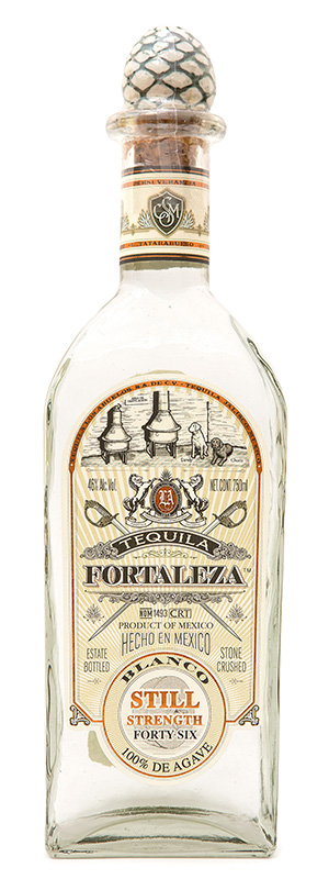 Tequila Fortaleza Blanco (Still Strength)